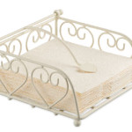 Serviettenhalter Heart Small Cream 19402145