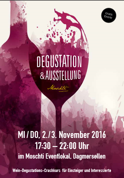 Degustation&Ausstellung in der Moschti Dagmersellen