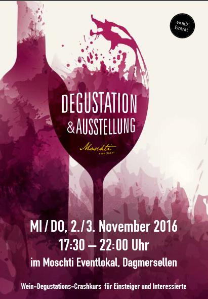 Degustation&Ausstellung in der Moschti Dagmersellen
