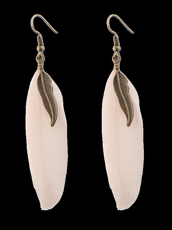 Ohrhänger Feder rosa B0200356