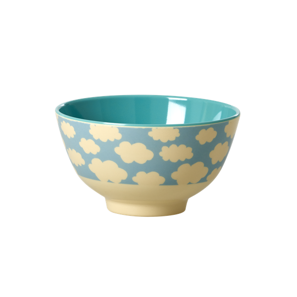 rice Melamin Bowl Cloud Print small