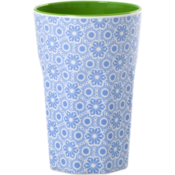 rice Melamine Cupe Marrakesh Print blau