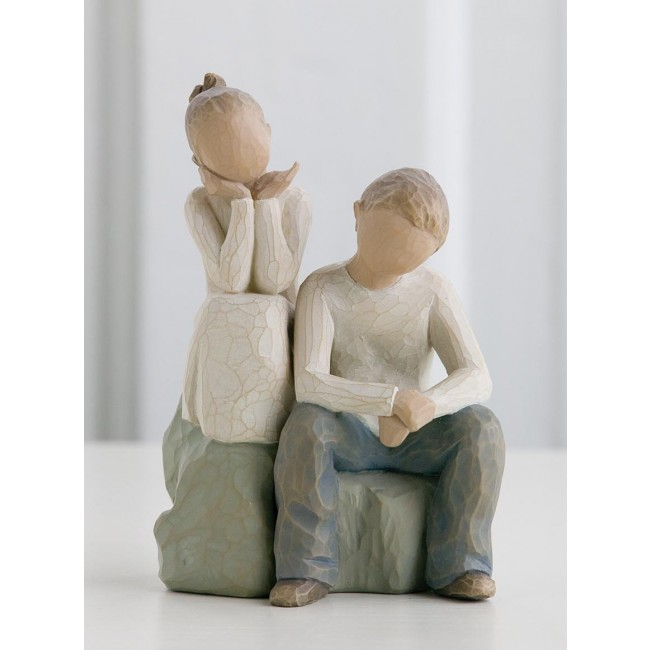 """Willow Tree Figur """"Bruder und Schwester"""""""