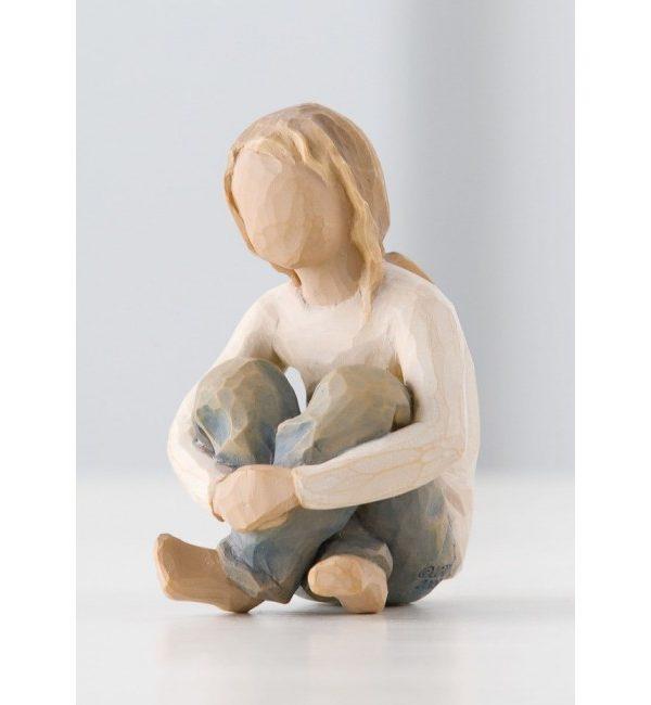 "Willow Tree Figur ""Beherzigtes Kind"" 26224"