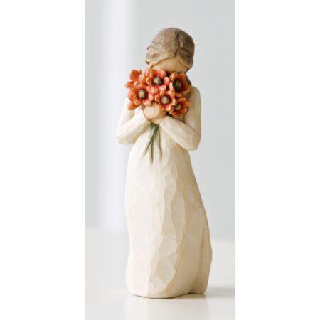 """Willow Tree Figur """"Liebeswürdigkeit - """"Umgeben von Liebe"""""""