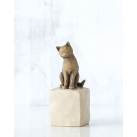 """Willow Tree Figur """"Ich liebe meine Katze"""""""