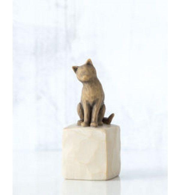 """Willow Tree Figur """"Ich liebe meine Katze"""" 27684"""