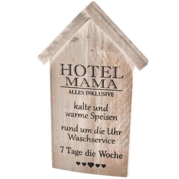 Holzschild Hotel-Mama 700386