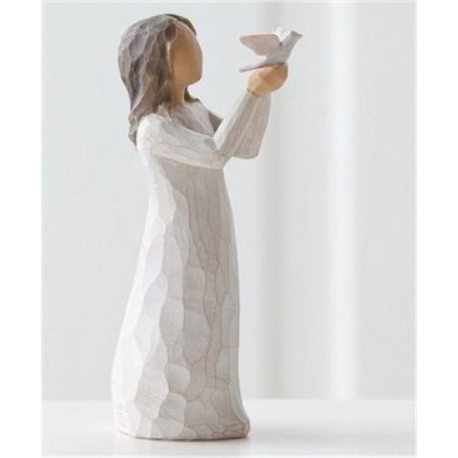 """Willow Tree Figur """"Zeit zum Reflektieren"""" 27173"""