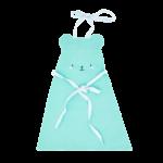 Rice Kinder-Schürze BÄRENGESICHT mint
