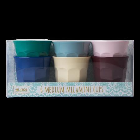 Rice Melamine Cup med 6er