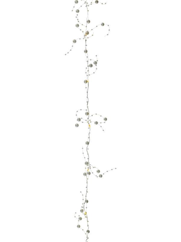 Lichterkette m. Perlen LED 51499-02
