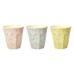 with Small Flower Print in 3 Assorted Colors – Medium