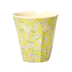 with Small Flower Print in 3 Assorted Colors – Medium gelb