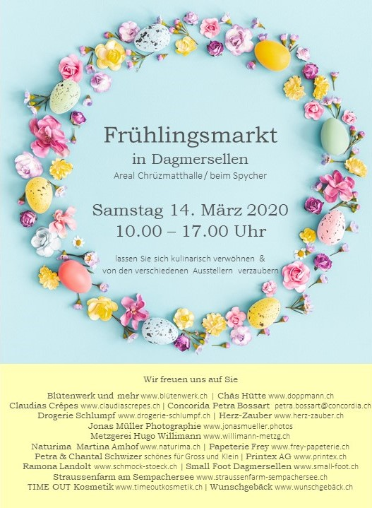 Frühlingsmarkt 2020
