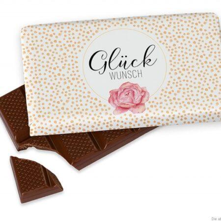 Schokolade Glück WUNSCH 404663