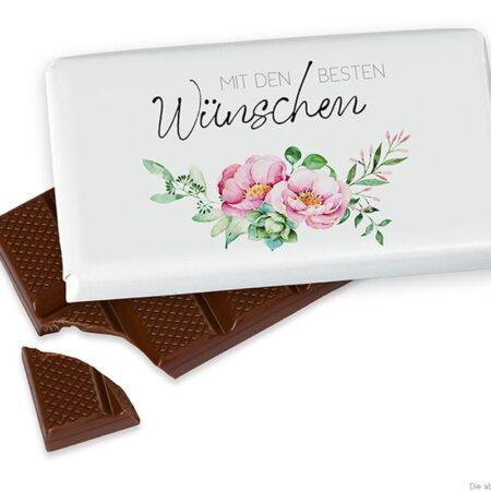 Schokolade MIT DEN BESTEN Wünschen