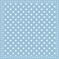 Serviette Stripes Dots light blue 12512529
