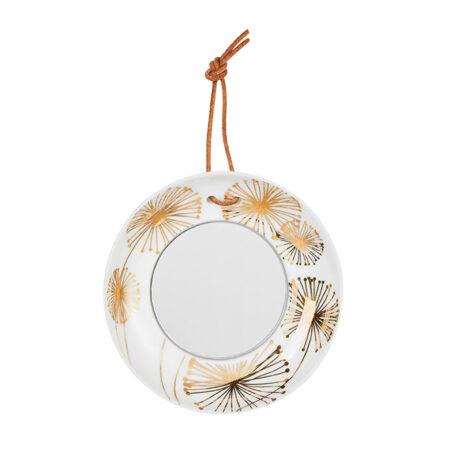 Porzellan Spiegel Blüte 13606