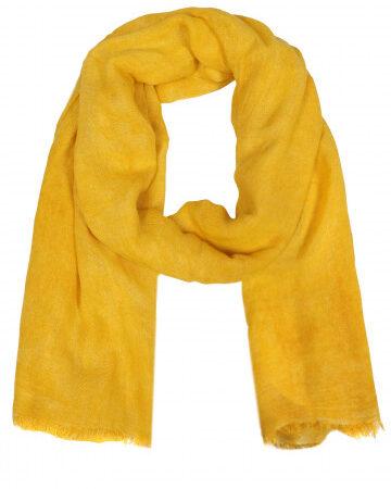 Schal 100% Bambus Neon gelb