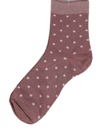 Socken Lurex Dreams rosa
