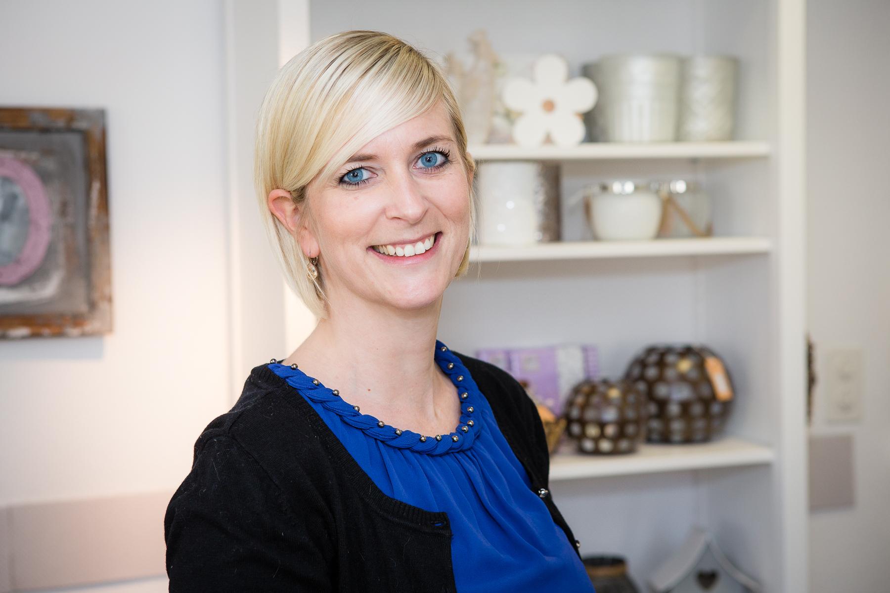 Claudia Schmidlin, Inhaberin Herz-Zauber Schmidlin