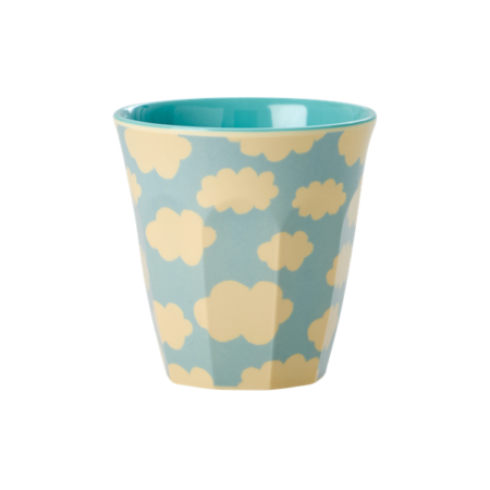 RICE Melamine Cup with Cloud Print