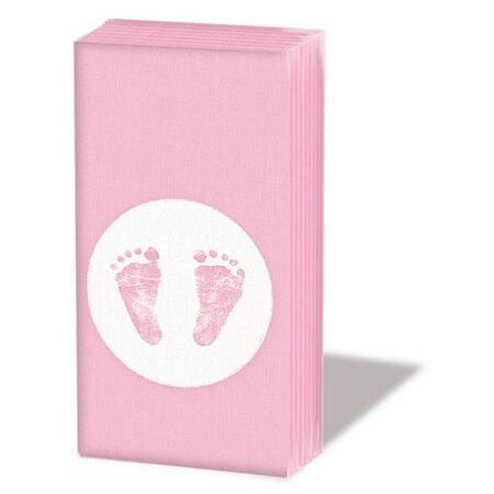 Taschentücher Baby Steps Girl12209415