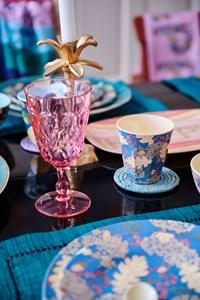 rice ACRYL WINE GLASS pink