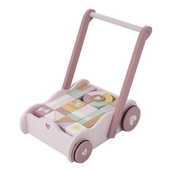 Lauflernwagen rosa LD4414