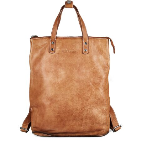 bull&hunt Shopper backpack light tan