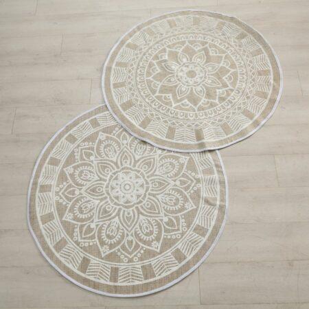 Bodenteppich Mandala
