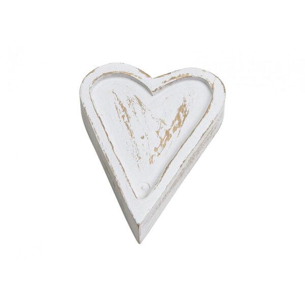 Herz aus Mango Holz 10010690