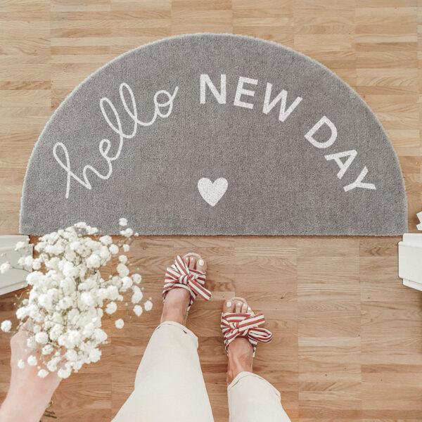 Fußmatte Hello New Day