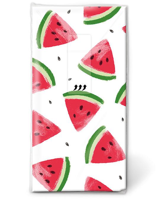 Taschentücher Melone