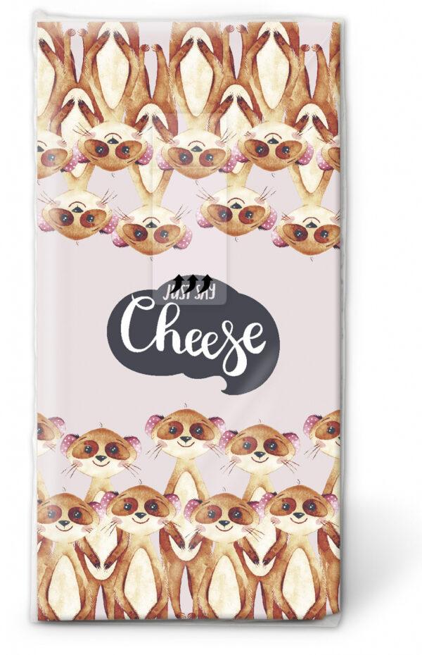 Taschentücher Say Cheese